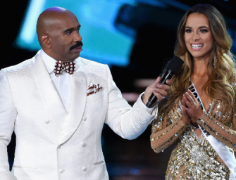Executives Want Steve Harvey To Return As Host For Miss Universe Telecast Next Year!