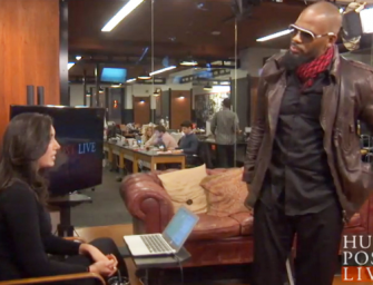 Watch: R. Kelly Walks Out Of 'HuffPost Live' Interview After Being Asked About Sexual-Abuse Allegations (VIDEO)