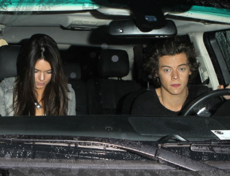 Kendall Jenner & Harry Styles: On Vacation TOGETHER.  We Got Some Blurry Photos!