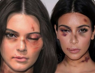 Those Shocking Anti-Violence Ads Were NOT Approved By Kim Kardashian Or Kendall Jenner