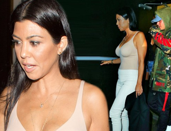 Kourtney Kardashian Claims She Didn't Hook Up With Justin Bieber, But Everyone (Including Her Family) Believes She's Lying!