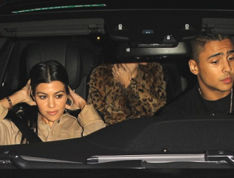 Kourtney Kardashian Spotted With Another Young Male Celeb, Find Out Who It Was Inside!