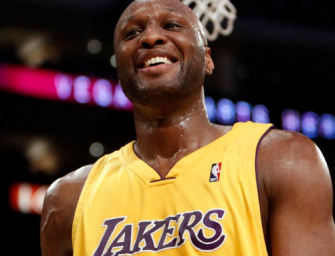 Lamar Odom Update: Former NBA Star Continues To Make Progress, Is Now Taking Steps Without Walker