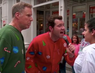 Get In The Christmas Spirit By Watching Will Ferrell Yell At Random People With Billy Eichner (VIDEO)