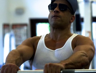 Buff Vin Diesel is Back!  Vin Shares Training Pics From 'XXX 3' and Fans Will Not Be Disappointed.