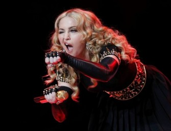 Was Madonna drunk at her own concert?