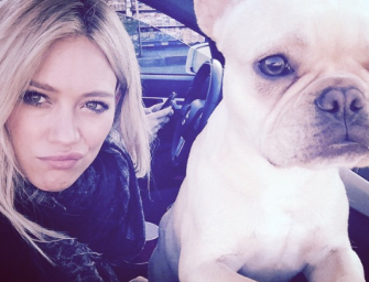 Hilary Duff's Dog Frenchie Has Passed Away, Read Her Emotional Message Inside
