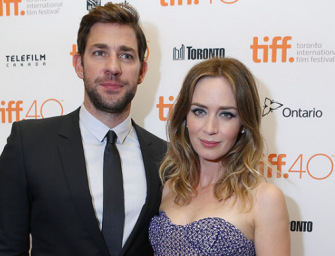 John Krasinski And Emily Blunt Are Expecting Baby Number 2, Plus Find Out Why John Had To Clarify His 'Office' Love With Jenna Fischer!