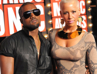 Kanye West Finally Responds To Amber Rose's Hilarious Tweets, Claims He Doesn't Let Anyone Touch His Booty Hole!