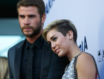 Miley Cyrus Flaunts Engagement Ring, But Liam Hemsworth's Older Brother Chris Claims His Bro Is Still Single!