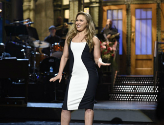 Ronda Rousey Hosts Saturday Night Live, Check Out What She Said About Holly Holm And Watch Her Hilarious Skits! (VIDEO)