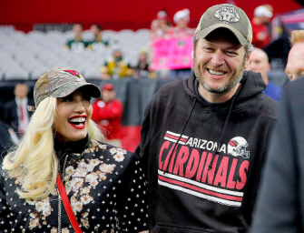 "Awww! Gwen Stefani Releases New ""Make Me Like You"" Song, And The Lyrics Are Obviously About Blake Shelton! (VIDEO)"