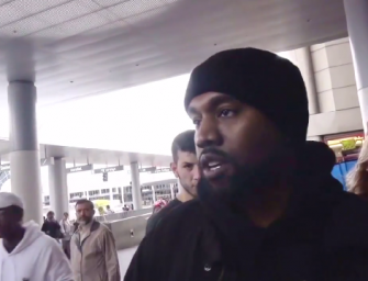 Take A Ride On 'Roller Coaster Kanye' As He Talks To The Paparazzi In A Completely Normal Video No One Wants You To See!
