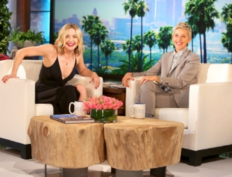 Kate Hudson Gets Uncomfortable While Talking About Her Love Life During Interview With Ellen DeGeneres (VIDEO)