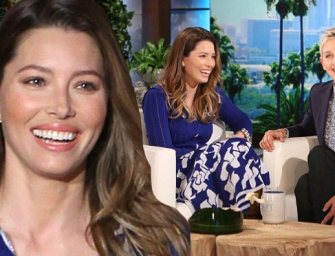 Is Jessica Biel Pregnant? Find Out What She Told Ellen About The Rumors! (VIDEO)
