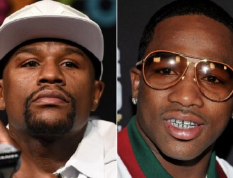 Adrien Broner Has Harsh Words for Floyd Mayweather After Floyd Comments on Video of Broner Throwing Money at a Walmart Cashier (Video)