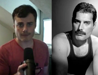 Meet The Man Who Looks And Sounds Just Like Freddie Mercury, Watch Two Incredible Videos Inside!