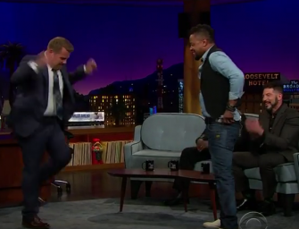 Cuba Gooding Jr. And James Corden Make Studio Audience Go Wild With Insane Dance Battle! (VIDEO)