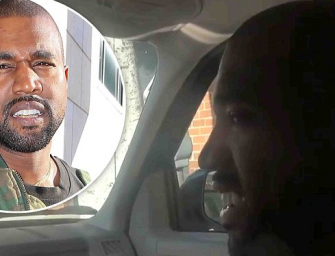 Hate Kanye West? You Might Change Your Mind After Watching This Video Of Him Ditching Uber And Riding With The Paparazzi!
