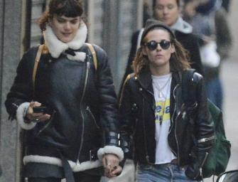 Kristen Stewart And Her Rumored Girlfriend SoKo Show Off Their Love In Paris (PHOTOS)