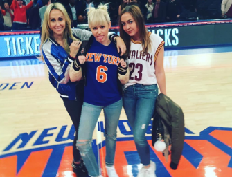 """Miley Cyrus Has Wild Night At New York Knicks Game, Find Out Why She Was """"Embarrassed"""" During The Game!"""