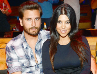 Sorry Justin! Looks Like Kourtney Kardashian And Scott Disick Might Be Getting Back Together, Check Out Their Adorable Snapchat Vids!