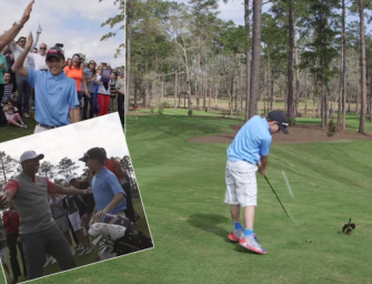 The Greatest Moment Ever: Tiger Woods Watches As 11-Year-Old Boy Hits Hole-In-One On Very 1st Shot On Course Designed By Woods (VIDEO)