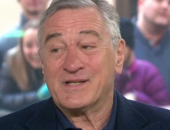 WATCH: Robert De Niro Gets Emotional As he Reveals Autistic Son Changed Overnight From Vaccination and Why He Regrets Pulling Anti Vaccine-Movie From the Tribeca Film Festival