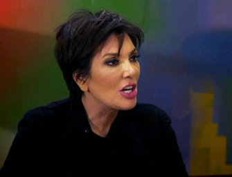 Daaamn! Kris Jenner Absolutely Destroys Kim And Khloe After They Try To Slam Her For Supporting Rob! (VIDEO)