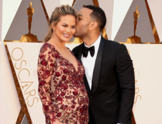 Here She Is! New Mother Chrissy Teigen Shares First Photo Of Her Daughter Luna!