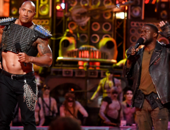 The Rock And Kevin Hart Were Your Most Insane Hosts Of 2016 During MTV Movie Awards (VIDEO)