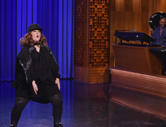 Someone Call Emma Stone, Melissa McCarthy Might Be The New Lip Sync Queen! (VIDEO)