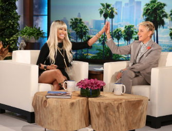 "Nicki Minaj Denies Engagement, But Also Tells Ellen Her Next Ring Will Be ""The Engagement Ring"" (VIDEO)"