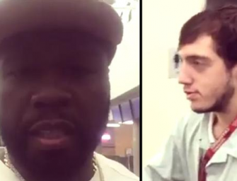"""Fans Slam 50 Cent After He Films Himself Mocking A """"Disabled Worker"""" Who He Believed Was High (VIDEO)"""