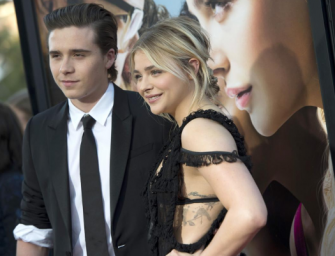 Awww! Chloe Grace Moretz Makes Red Carpet Debut With Her Boyfriend Brooklyn Beckham (PHOTOS)