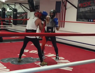 We Got Video Of Conor McGregor Boxing With A Former Champ, Is He Getting Ready To Face Floyd Mayweather?