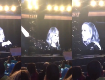 WATCH: Adele Calls Out Fan During Concert For Filming Her And She Looked Genuinely Pissed!