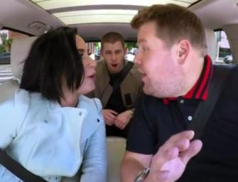 Demi Lovato And James Corden Gang Up On Nick Jonas During Hilarious Carpool Karaoke! (VIDEO)