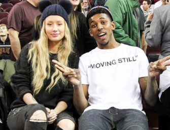 Watch Yo' Man, Iggy! Nick Young Spotted Flirting With A Beautiful Hostess While Eating Lunch In L.A. (PHOTOS)