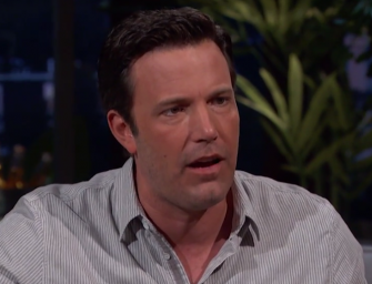 So Ben Affleck Is SUPER Passionate About Deflategate, Shocks Viewers With Expletive-Filled Rant! (VIDEO)