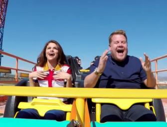 Selena Gomez Joins James Corden For The Most Terrifying 'Carpool Karaoke' Ever! (VIDEO)