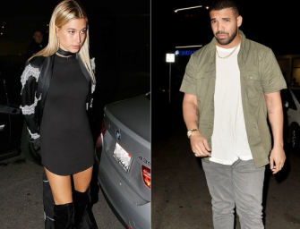 Bye Bye Justin Bieber…Hello Drake? Hailey Baldwin Goes On Romantic Dinner Date With Drake, And We Got Photos!