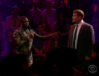 Kevin Hart And James Corden Slam Each Other In One Of The Greatest Rap Battles Ever (VIDEO)
