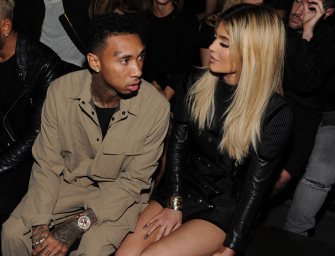 """Kylie Jenner Gets Tired Of Partying Next Door, Spotted """"WITH"""" Tyga During Khloe Kardashian's Birthday Party! (PHOTO)"""