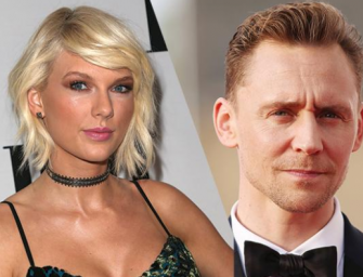 Taylor Swift Can't Keep Her Hands To Herself As She Takes Tom Hiddleston To Selena Gomez Concert (VIDEO)