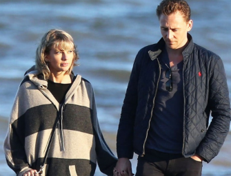 Damn…Taylor Swift Has Already Met Tom Hiddleston's Mother! Plus More Photos Of Them Walking Along A Beach