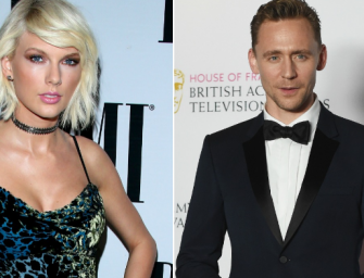 Two Weeks After Ending Things With Calvin Harris, Taylor Swift Is Spotted Kissing Tom Hiddleston…DRAMA!