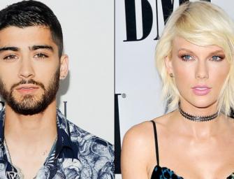 Zayn Malik Talks About That One Time Taylor Swift Made Him Blush