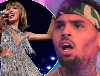 Chris Brown Shuts The Taylor Swift/Kanye West Feud Down With Some Truly Bizarre Instagram Comments