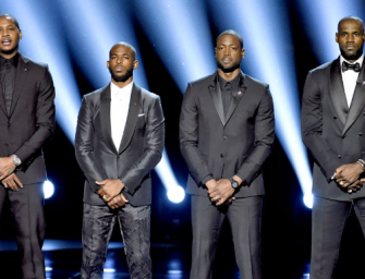LeBron, Melo, Wade And CP3 Open The ESPYs With A Powerful Speech Taking A Stand Against Violence (VIDEO)